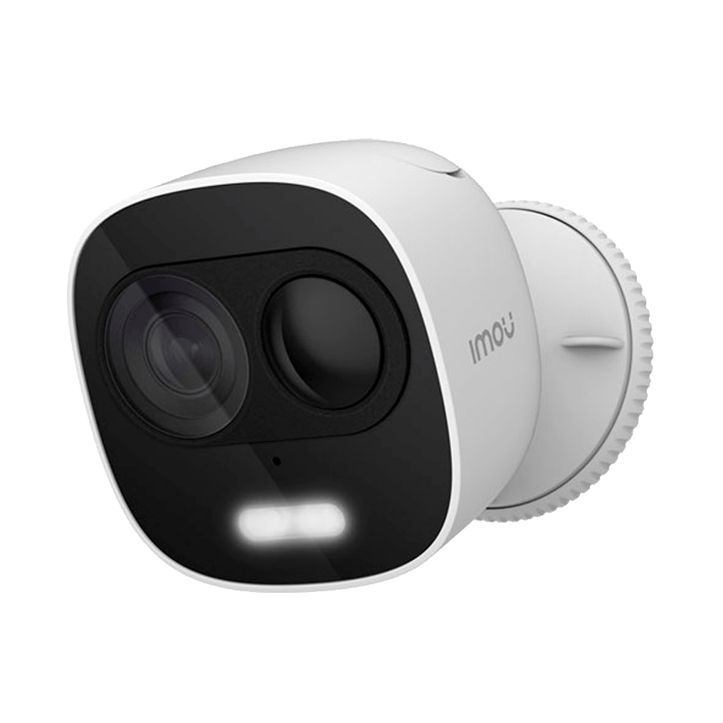 Active deterrence camera